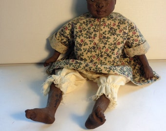 Collectable Daddy Long Legs African American Doll Sign 1990 .