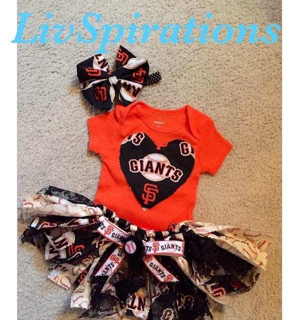 San Francisco Giants Sf Headbands Sf Onesie By Livspirations