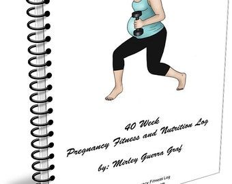 Pregnancy Fitness and Nutrition Log
