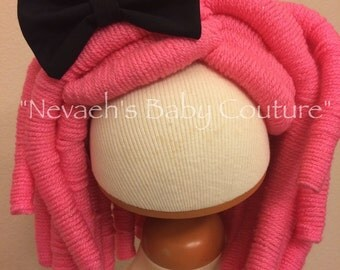 Lalaloopsy yarn wig Crumbs Sugar Cookie Cosplay Wig