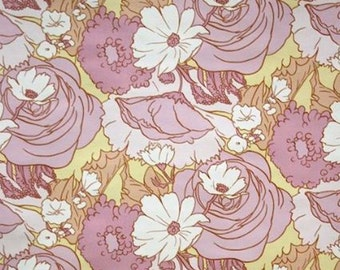 Pretty Purple People Eater Flower Original Vintage Original 60s 70s Wallpaper