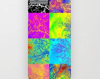 phone cover, bright phone case, 5s case,5c, 4s, 3, 3G, ipod touch, galaxy s5, galaxy s4 , trees phone cover, tree phone case, colorful case