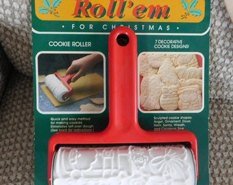 Vintage Roll'em for Christmas Made in West Germany