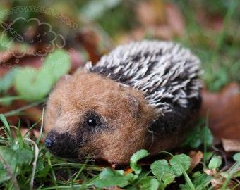 Needle felted hedgehog - Big