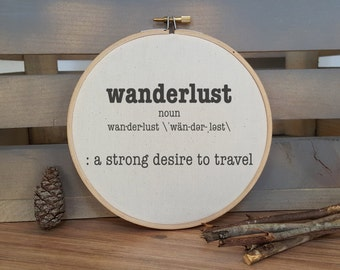 Wanderlust Definition hoop