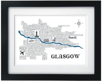 Glasgow Sat Nav