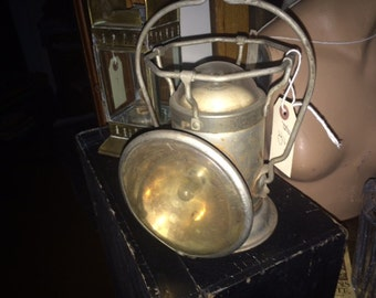 Vintage, Antique Delta Powerlite Double Lamp Railroad Lantern