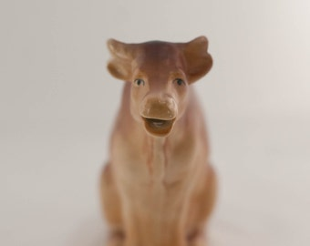 Cow Creamer Small Pitcher Made in Czecho-Slovakia