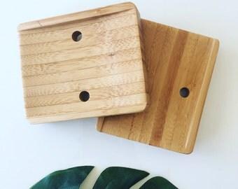 Sustainable Bamboo soap dish