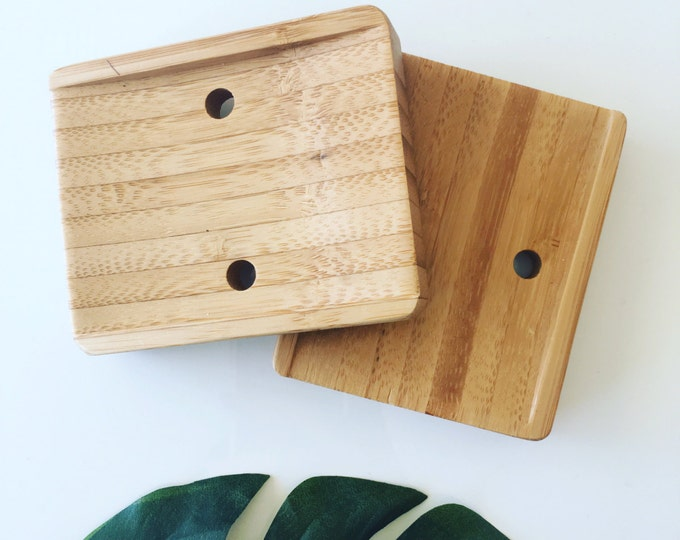 Featured listing image: Sustainable Bamboo soap dish