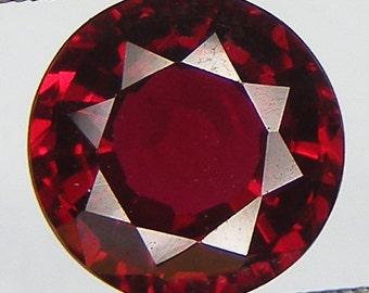 Excellent Cut Loose Ruby Round 9 mm Pigeon Blood red ruby Lab corundum Lab Created Loose Gemstones
