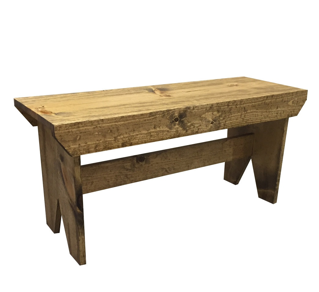 County Farmhouse Bench