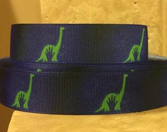 5 YDS Dinosaur Ribbon