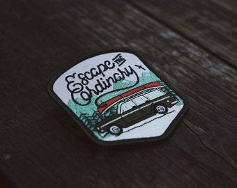Escape The Ordinary Embroidered Patch
