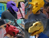Prehistoric Monster Mask Set