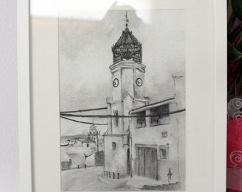 The clock tower of Pinoso