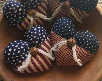 Patriotic Heart Bowl Fillers