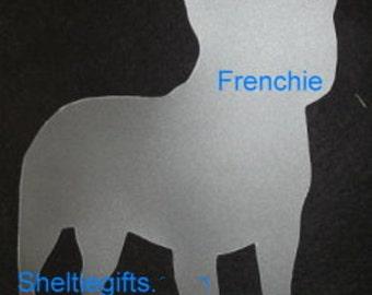 Puppy Bows ~ French Bulldog FRENCHIE dog breed plastic craft stencil