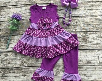 Pre order only. Girls Boutique fall clothes, girls Boutique outfit, girls Halloween outfit.