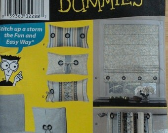 Simplicity 2765 - UNCUT Chair covers, pillows and window treatments
