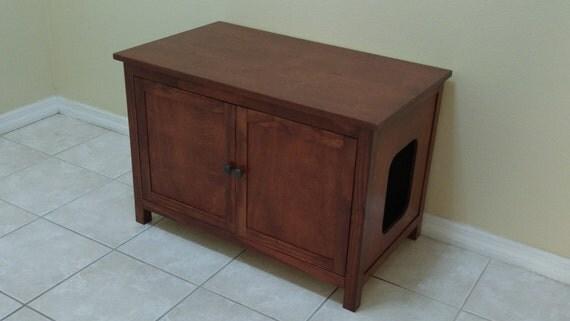 Large Odor Free Custom Hand Made In Usa Cat Litter Box