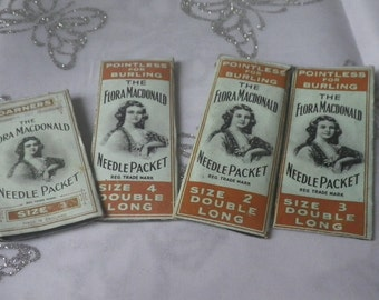 Collection Vintage Flora Macdonald Sewing Needle Needles