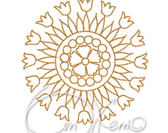 MACHINE EMBROIDERY FILE - Mandala 3