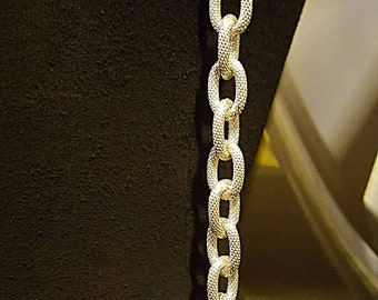 Silver-toned chain suspenders, body jewelry, statement piece