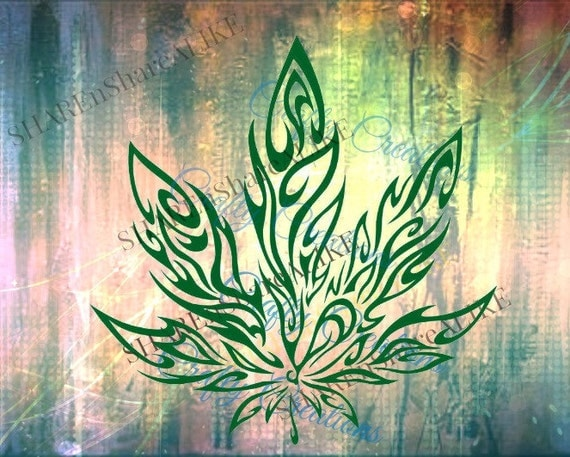 Marijuana Svg Weed Hemp Medical Leaf Blaze Smoke Hippie