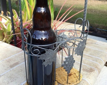 Wine Bottle and Carrier