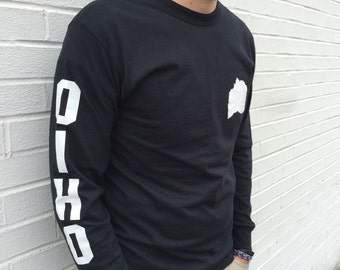 Ohio Upside Down Long Sleeve (OHpparel)