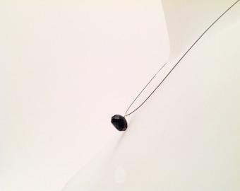 Starstone pendant, starstone necklace, blu gemstone necklace, faceted starstone, starstone faceted drop, blue gemstone pendant, starstone