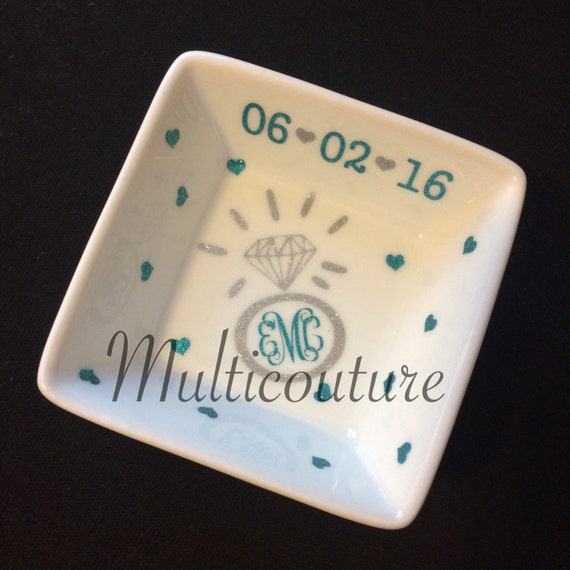 Jewelry: PERSONALIZED RING DISH!