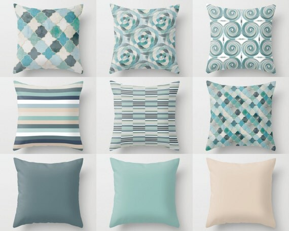 Decorative Pillows With Matching Curtains : THROW Pillow Covers Decorative Pillows Home Decor Cushion