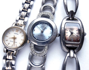 Watch Lot - Bracelet Watch - Vintage - Womens Watches - Battery