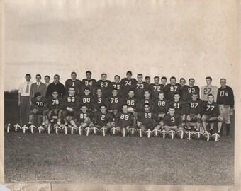c1970s or older Sports team group picture. Football? Soccer? Italian?  fair shape