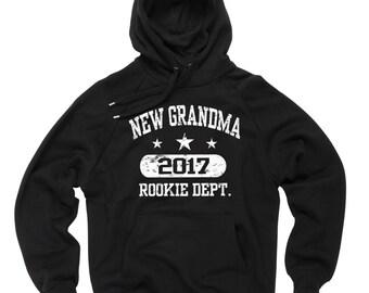 Grandma Hoodie New Grandma 2017 Hoodie Gift For Grandmother Hooded Sweatshirt