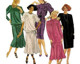McCall's Sewing Pattern 3264 Misses' Dress, Top, Skirt, Scarf  Size:  20  Used