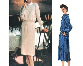 Vogue Sewing Pattern 1479 Misses' Dress by Albert Nipon American Designer  Size: 12  Used