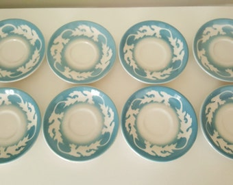 Four Syracuse Oakleigh Oak Leaf Saucers- One set available