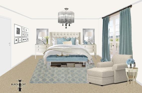online bedroom interior design package coastal bedroom design glam