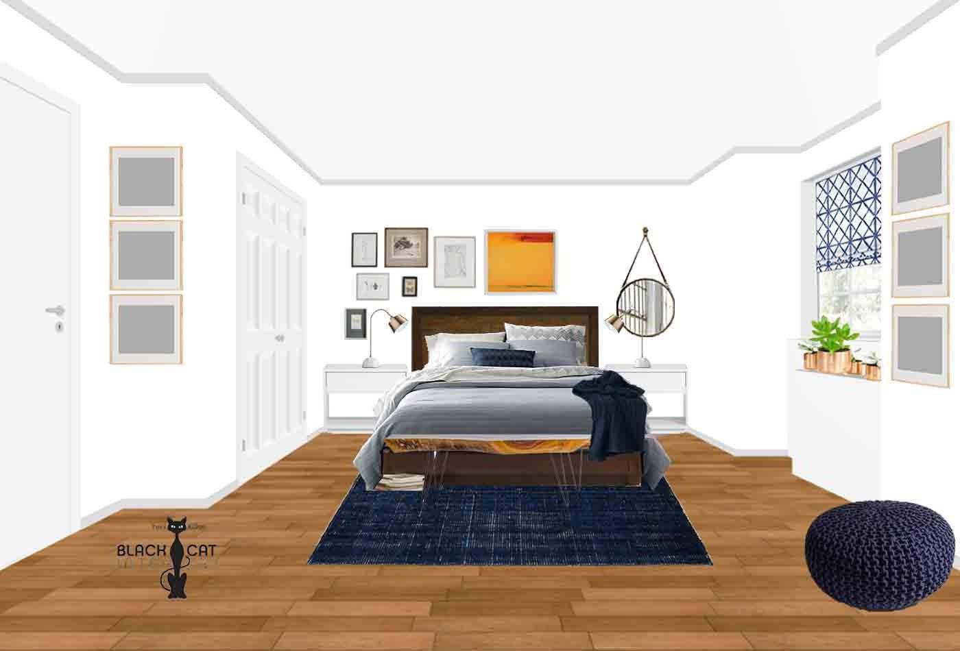 Boho Bedroom Online Interior Design Package Eclectic