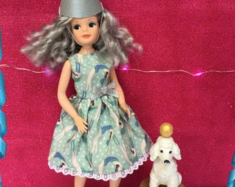Showtime dress for vintage Sindy. (Adult collectors.)