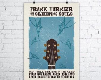 "Frank Turner ""I Still Believe"" Lyric Print"
