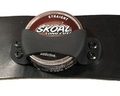 Snuff can holder for chew or dip can
