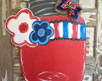 Personalized Door Hanger Spring Door Hanger Summer Door