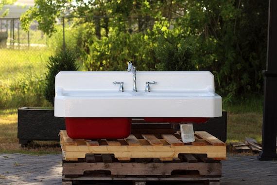 Vintage Refinished Farm Sink 50 American Standard 1941