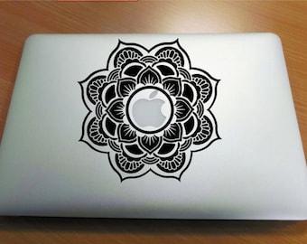 Mandala macbook Decal, laptop, computer