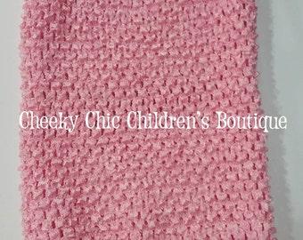 10x9 inch PINK Crochet Tutu Dress Tube Top [CB10PK]