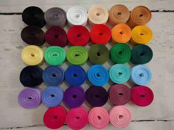 "CLEARANCE *BUNDLE & SAVE* 7/8"" Grosgrain - 165 Yards 5 Yards of Each Color"